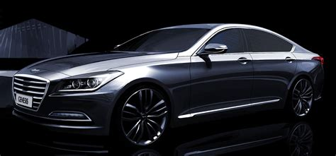 Hyundai Genesis News by Hyundai Previews New Genesis