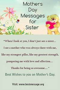 The 25+ best Happy mothers day sister ideas on Pinterest ...