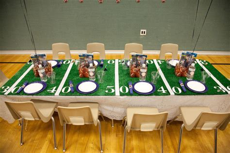 Super Bowl Party Decorating Ideas Elitflat