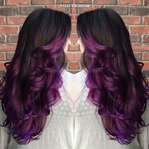 Ombré Hair Purple