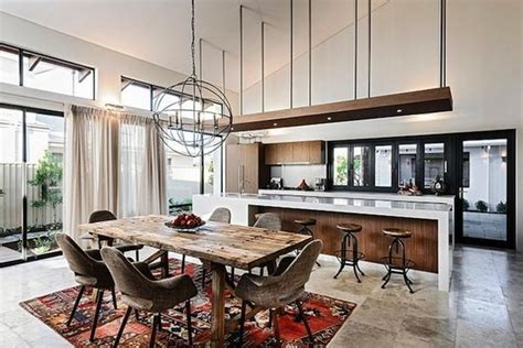 contemporary interior design with bohemian touch