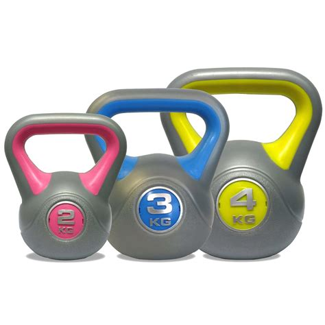 kettlebell weight vinyl 4kg dkn kettle bell equipment kettlebells gym sweatband 2kg 3kg dumbbell 1kg dumbbells sellers unisex multi colour