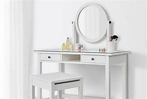 Table De Maquillage Ikea : coiffeuse meuble avec mirroir ikea ~ Teatrodelosmanantiales.com Idées de Décoration
