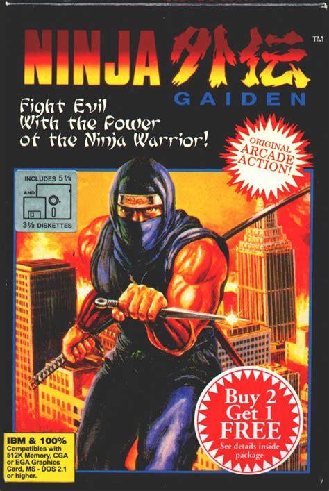 Ninja Gaiden For Amiga 1990 Mobygames