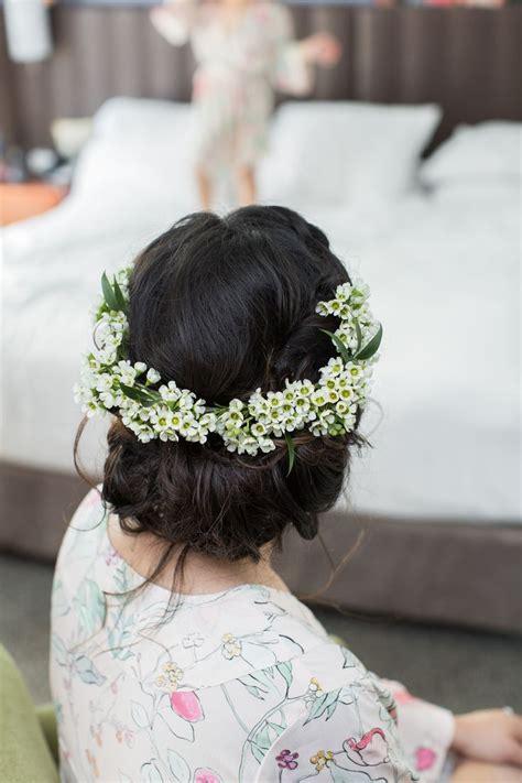 Romantic Flower Crown Wax Flowers Romantic Spring