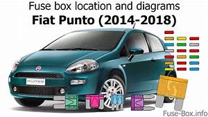 Fuse Box Location And Diagrams  Fiat Punto  2014