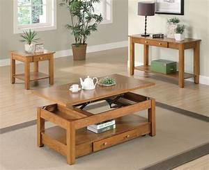 Oak, Finish, Modern, Lift, Top, Coffee, Table, W, Options