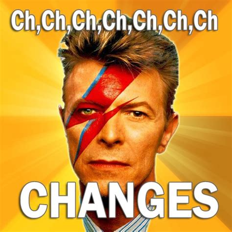 David Bowie Memes - david bowie tribute robbie williams and rufus wainwright sing changes