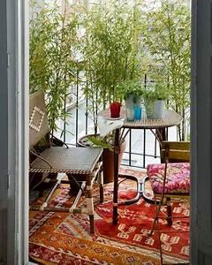 Tapis Pour Balcon : 10 d co balcon l abris du vis vis ~ Teatrodelosmanantiales.com Idées de Décoration