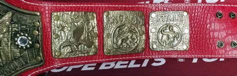 bruno sammartino wwwf heavyweight wrestling champion belt