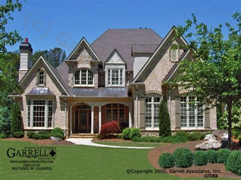 French Country House Plans With Front Porches Country