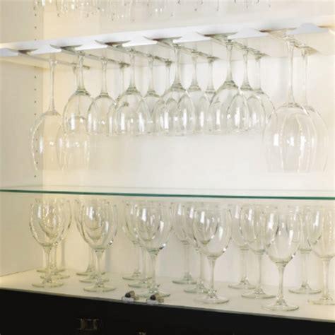 wooden stemware rack  wine glasses  maple  cherry  hafele kitchensourcecom