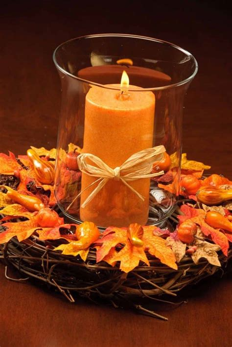 diy table decor fall mygourmetconnection