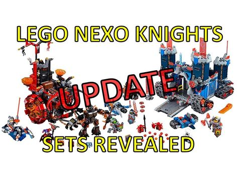 Lego Nexo Knights Set Pictures Revealed Update