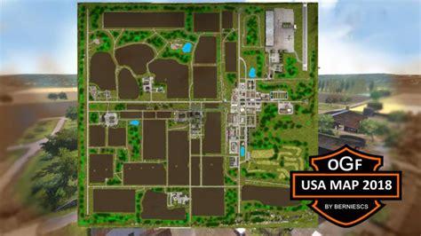 ogf usa map   farming simulator   mods