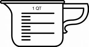Measuring cup clipart - Clipart Collection Measuring