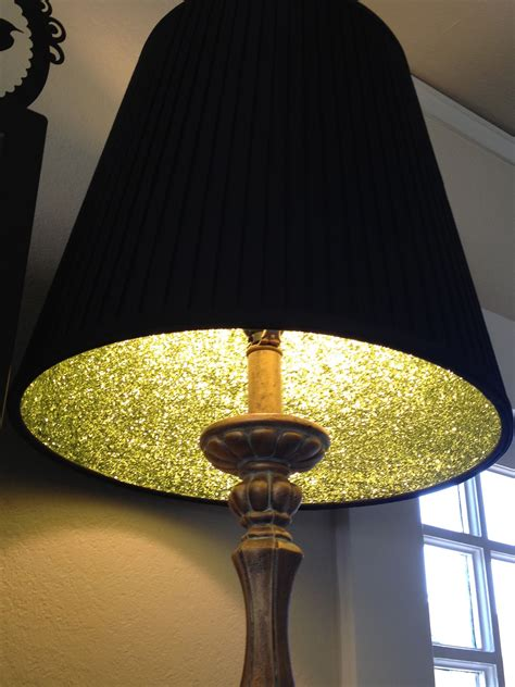 great lampshade glitter project carrie  mader