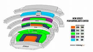 Newark New Jersey Performing Arts Center Seating Chart