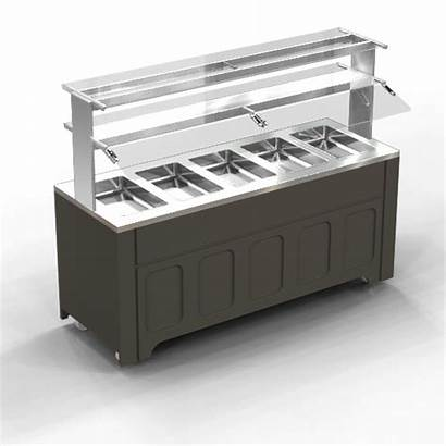 Cafeterialines Counter Glass