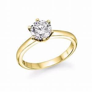 ladies wedding solitaire ring 1 carat lab created diamond With lab diamond wedding rings