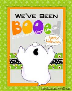You've Been Booed Printables Halloween