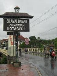 cinta wisata indonesia wisata kota gede yogyakarta