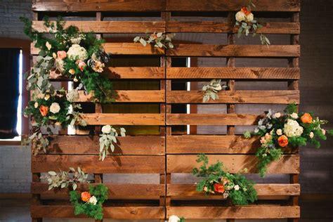 Floral Modern Palet Wedding Backdrop Palet Decoration