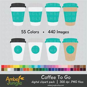 Coffee to go Cup Clipart (35+)