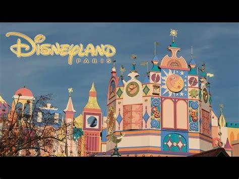small world disneyland paris youtube