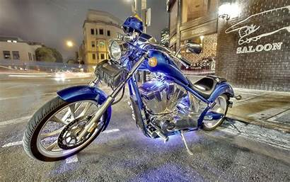 Chopper Custom Wallpapers Desktop Honda Oceanblue Motorcycle