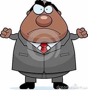 Cartoon Boss Mad Stock Vector - Image: 41818607