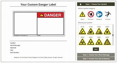 Label Safety Labels Custom Create Sign Signs