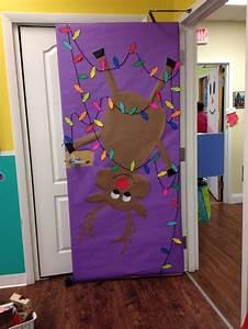 Preschool, Door, Christmas, Door, Christmas, Classroom, Decorations