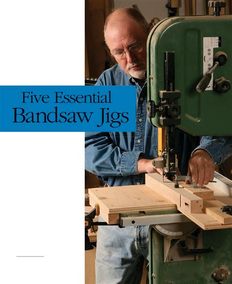 essential bandsaw jigs bandsaw woodworking saws