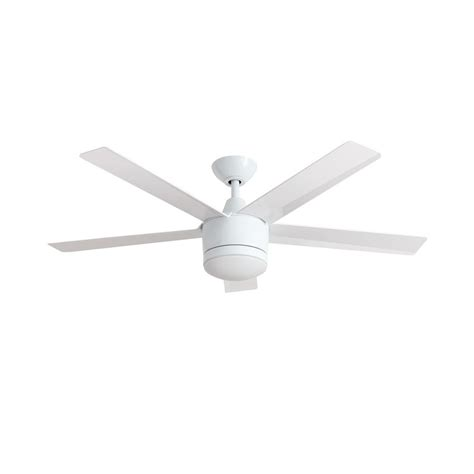 home depot 52 inch ceiling fans home decorators collection merwry 52 in led white ceiling