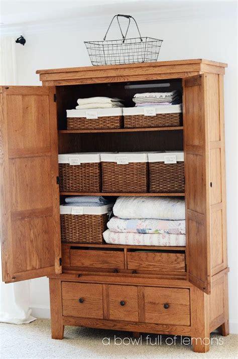 Linen Armoire Storage by Best 25 Linen Closets Ideas On Bathroom