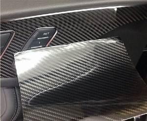 Echt Carbon Folie : carbon ultra hochglanz folie 30 cm x 152 cm schwarz ~ Kayakingforconservation.com Haus und Dekorationen