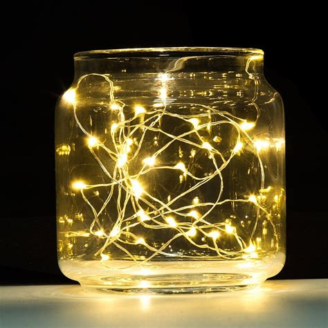 8 pack 20 led starry string lights on thin silvery