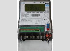 KEMA Certified Three Phase Energy Meter Class 02s P2000