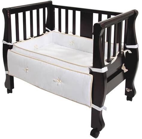 sleigh bed co sleeper arm s reach arms reach sleigh bed co sleeper 174 espresso