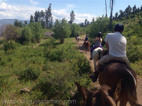 riding diaries kelowna pegasus rides travel horseback trail ride
