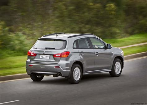 mitsubishi asx wd awarded  star ancap safety rating