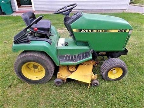 Used Mower Deck For Deere 265 by Mowers Lawnmowers Yard Garden Outdoor Living