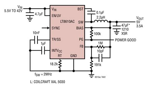 Ltac Mhz Step Down Converter Circuit Collection