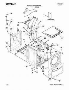 Maytag Model Mhwe200xw00 Residential Washers Genuine Parts