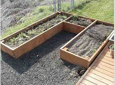 The RunnerDuck Raised Beds Project, step by step instructions