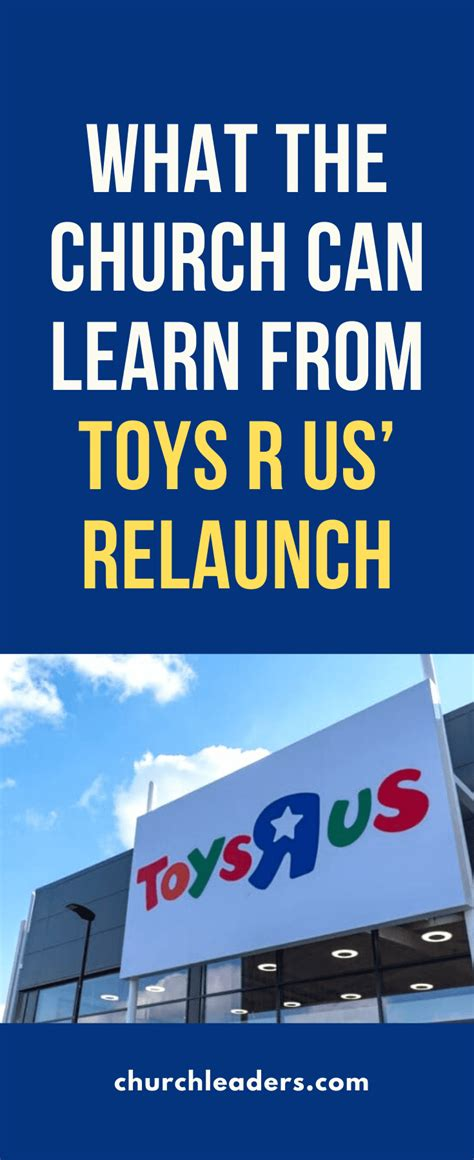church  learn  toys   relaunch