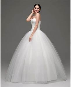 Cheap simple strapless ballroom bridal gowns for weddings for Ballroom gown wedding dress