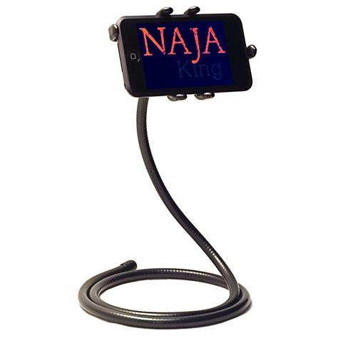 iphone holder naja king iphone 4 holder gadgetsin