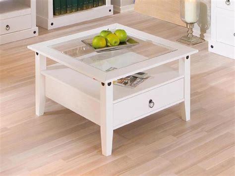cuisine style shabby table basse 1 tiroir provence blanc